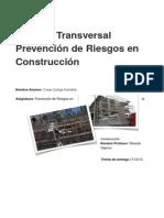 Exámen Transversal Construcción duoc uc