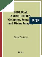 Biblical Ambiguities
