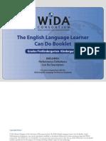 wida can do descriptors grades pk-k