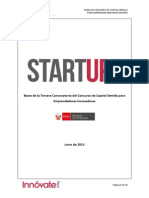 Bases Concurso Start-Up Perú