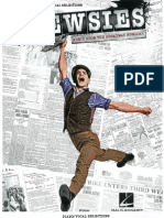 Newsies Sheet Music