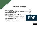 07 - Starting System