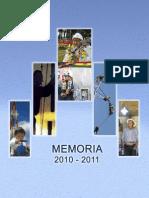 Memoria Mhe 2010-2011
