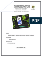 informe solidos totales
