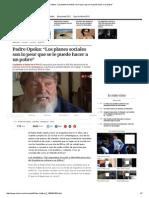 """Padre Opeka_ """"Los Planes Sociales Son Lo Peor Que Se Le Puede Hacer a Un Pobre"""