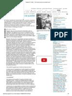 """Página_12 __ El País __ """"Hay Cosas Que Ya No Se Pueden Hacer"""""""