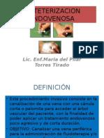 Cateterizacion endovenosa
