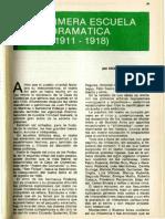La primera escuela dramática 1981