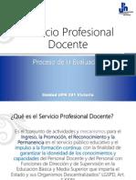 Servicio Profesional Docente.