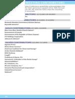 Midwestern Legislative Conference 2015-On Site Agenda, Contributors List