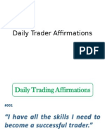 Daily Trader Affirmations