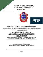 Proyecto Gestion Escolar Mayo 2015.