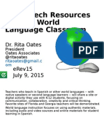 Share Spanish Resources presented at eRev15-Oates