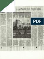 Ashok Leyland Market Position Dec 13