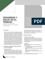 2014 - Registro de Auditores Independientes de SST Ante El MTPE