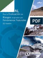 Manual de Evaluación de Riesgos por fenómenos de origen natural