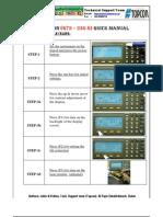Topcon230 Quick Manual by Al-Fajr