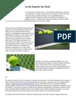 A Origem E Evolucao Do Esporte Do Tenis