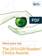 2010 Readers Choice Brochure
