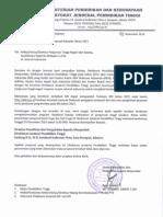 Surat Pemberitahuan Pengajuan Proposal Robotika 2014