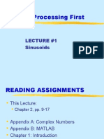 digital signal processing First-lecture 01