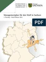 Wolfsmanagement Sachsen