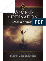 Women's Ordination Does It Matter by Clinton and Gina Wahlen