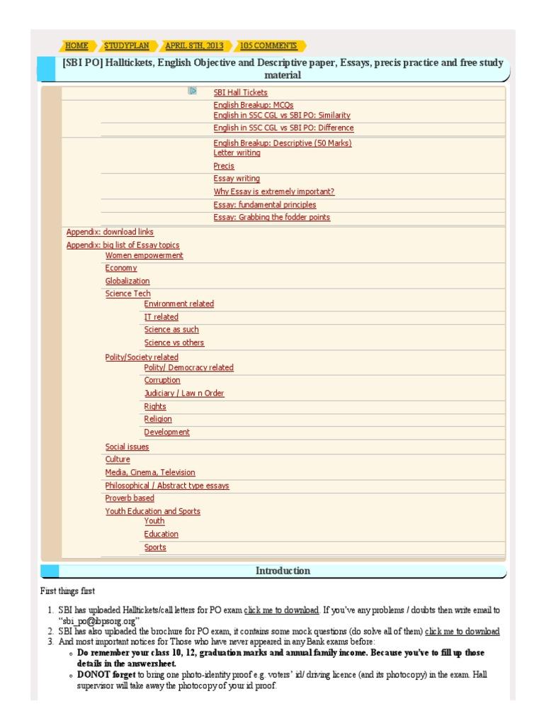 STUDY ENGLISH FOR CSS  The Art   Science of English Essay Precis     Home   Madras Book Store
