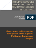 Indigenous People's Rights Act in the Philippines by Legal Resource Center-Friends of the Earth Philippines