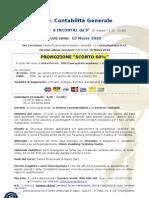 Programma Corso Contabilità Generale 2010