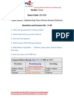 2015 Latest 300-208 VCE Free Download From Braindump2go (11-20)