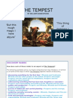 the tempest revision powerpoint