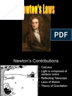 Newtons( Laws of Motion)