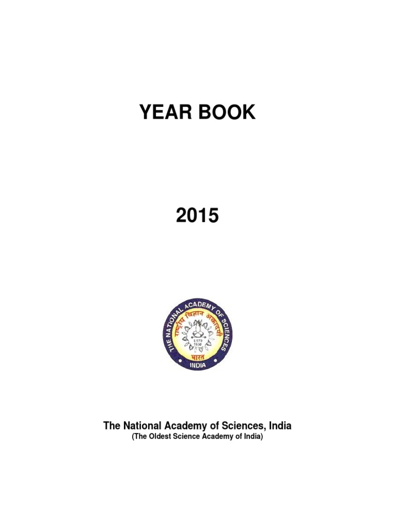 Year Book 2015 | Science And Technology | Academia