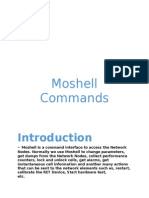 Moshell Commands