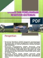 9. Operasi Dan Pemeliharaan Reservoir Distribusi