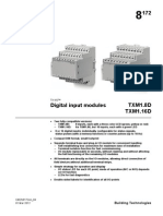 Digital Input Modules TXM1 D A6V10068527 Hq En