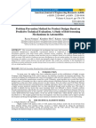 Problem Prevention Method for Product Designs Based on Predictive Technical Evaluation