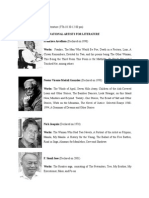 National Artists for Literature in the Philippines