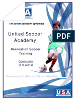 Recreation Soccer Training Curriculum Ages 5 8