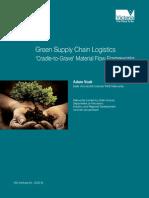 Green Supply Chain Logistics