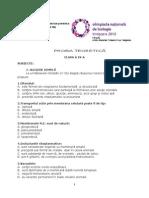 2010 Etapa Nationala Proba Teoretica