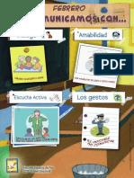 Poster educación en valores de la comunicación