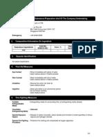 Sealant - 1st Acrylic a-700 MSDS
