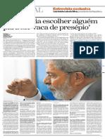 Entrevista de Lula ao Estadão