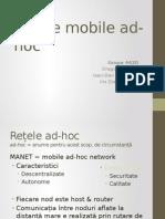 Rețele Mobile Ad-hoc