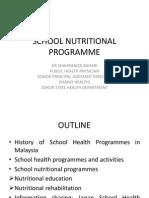 P5 School Nutritional Program