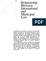 Relationship Between International Law and Municipal Law