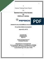 MARKETING STRATEGIES Pepsi Noida.docx