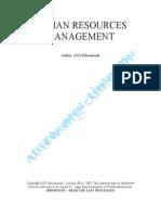 Human Resources Management & Leadership